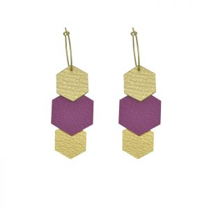 Boucles Béa lilas